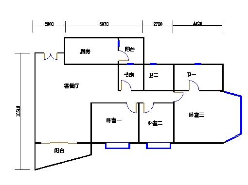裕景1座4-23、25-29层I单元