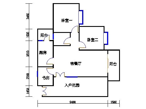 B型1-3-5-7栋01-02单元