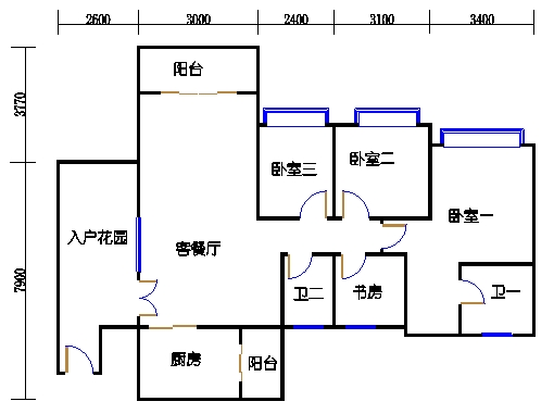 D型8栋01-02单元