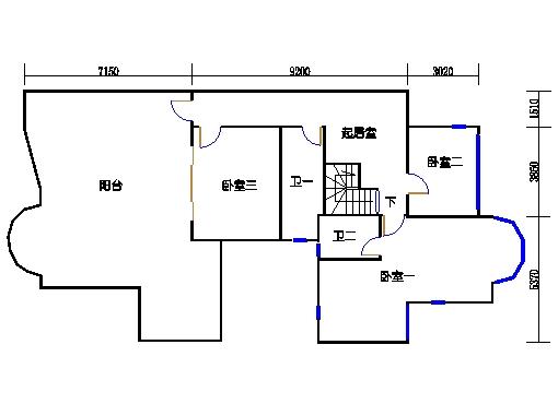 月明轩复式洋房顶层01