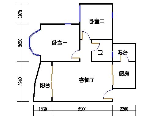 月明轩复式洋房首层03