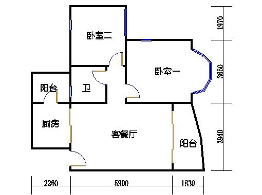 月明轩复式洋房首层08