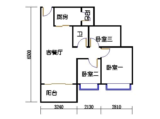 9栋03A-05单元2-18层