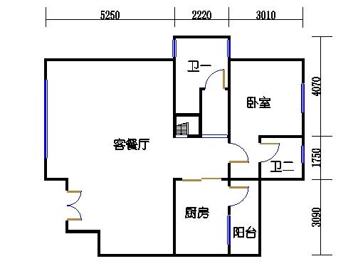 D1304-01单元一层