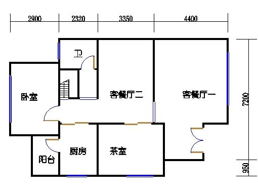 A01单元一层