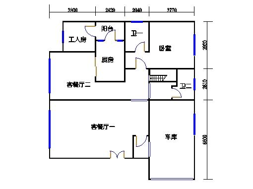 凤雅苑B201单元一层