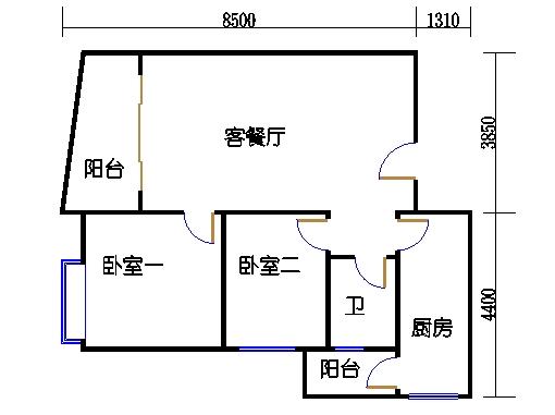 D-E栋16C单元