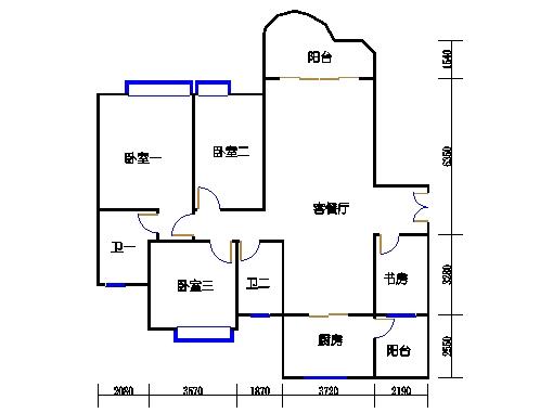 颐馨轩D-5C单元