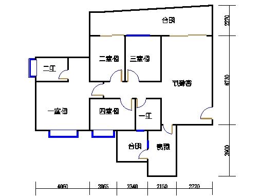 6F、G栋23-28层03单元