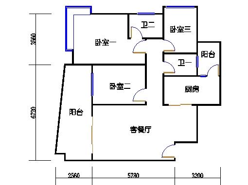 6F、G栋7-21层02单元