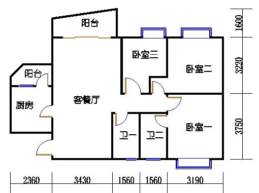 A7栋三层04单元