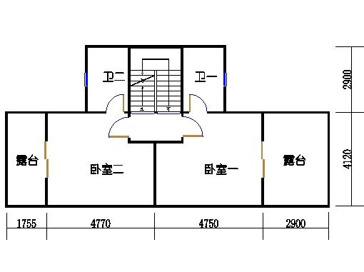 遨景峰(D-c3d)二层01单元