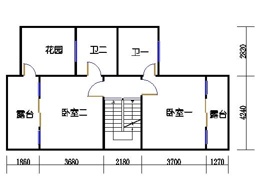 遨景峰(9D-c3e)二层01单元