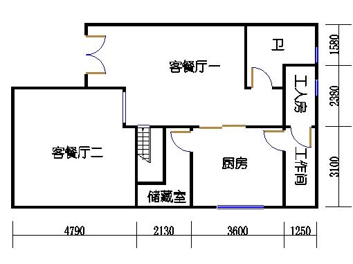 遨景峰(9D-c3e)首层02单元
