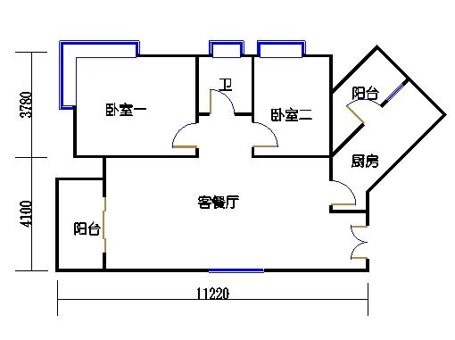 2号公寓I单元