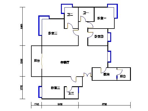 2号公寓M单元
