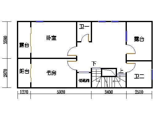 D单元二层