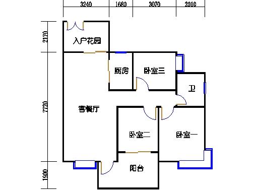 D3标准层02单元