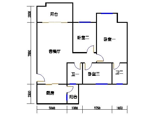 NG6A栋四层01单元