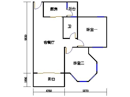 NG6A栋四层04单元