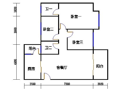 NG6B栋六层02单元