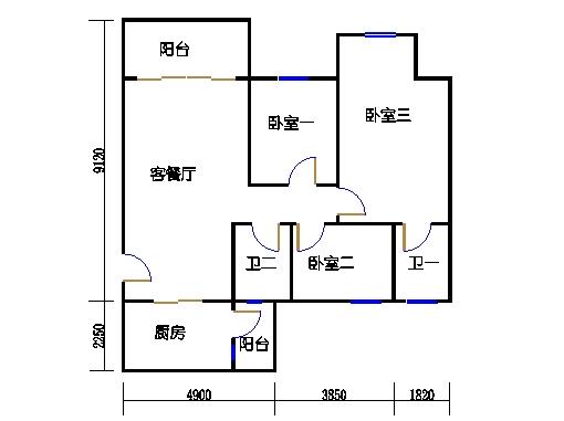 NG6B栋一层01单元
