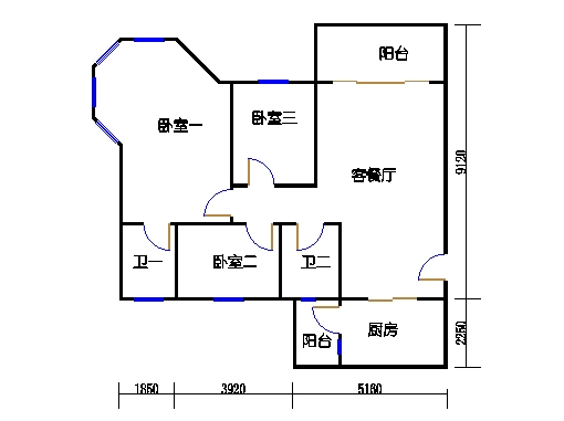 NG6B栋一层02单元