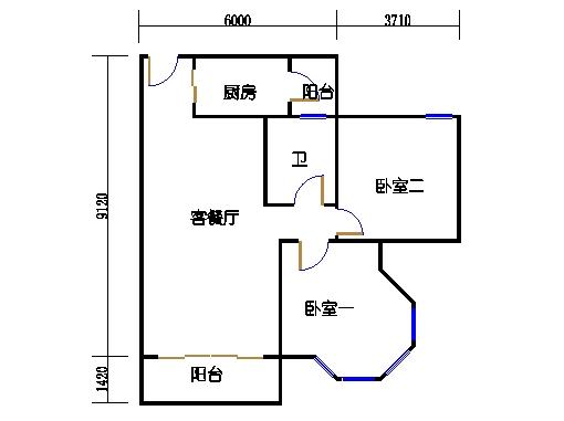 NG6A栋二层04单元