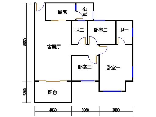 NG7A栋一层04单元