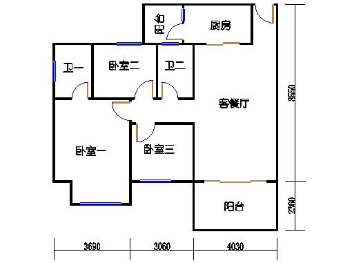 NG7A栋三层03单元