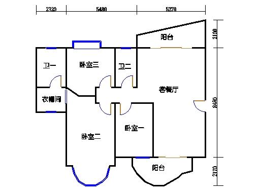 画水轩2梯2-9层01单元