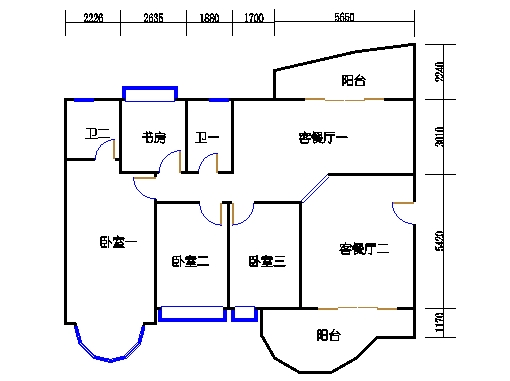如水轩2梯2-9层01单元