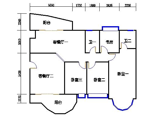 如水轩2梯2-9层02单元