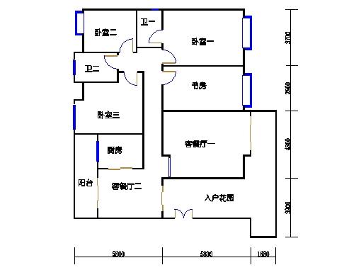 瑞云阁九-十二层.A01单元