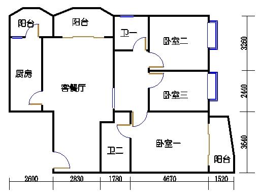 D8栋3-8层01单元