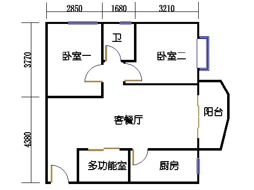 D8栋3-8层04单元
