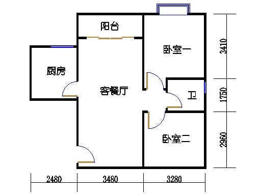 D9栋2-8层01单元