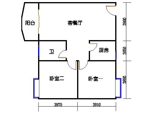 D11栋2-8层03单元