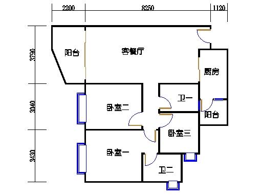 B2栋3至15层02单元
