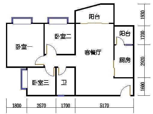 B2栋3至15层05单元