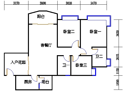 B2栋3至15层06单元