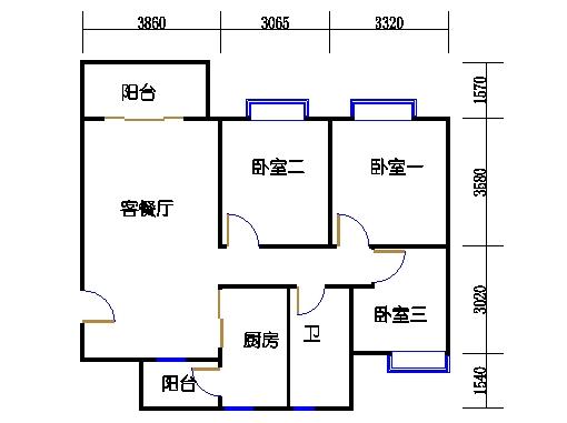 8栋3-18层1单元