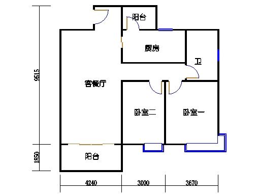 8栋3-18层2单元