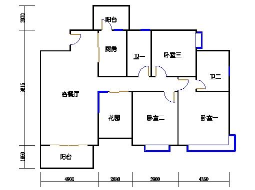 10栋3-16层02单元