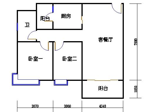 10栋3-16层03单元