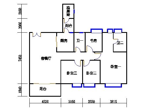 5栋3-16层01单元