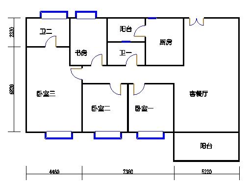 6栋3-16层02单元