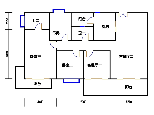 7栋3-15层02单元