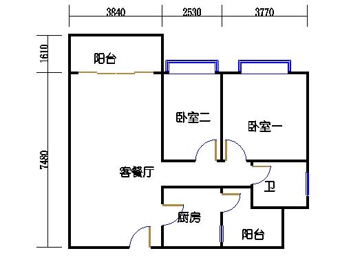 7栋3-15层04单元