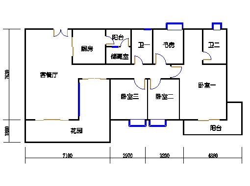 8栋3-11层01单元